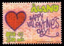 "ALAND ISLANDS 186 - Valentine's Day ""Wall Graffiti"" (pa41918)"