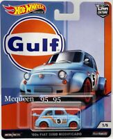HOT WHEELS 2019 CAR CULTURE GULF RACING '60s FIAT 500D MODIFICADO