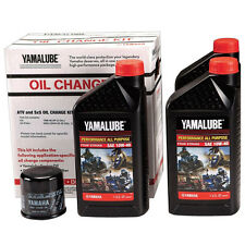 Yamalube OEM Oil Change Kit 2007-2015 Yamaha Grizzly 700 With Filter & Gaskets