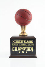 6 YEAR COLOR FANTASY BASKETBALL TROPHY - FREE ENGRAVING!!! SHIPS IN 1 DAY!!!