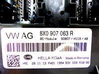 AUDI Q3 8U FACELIFT'alimentation HIGHLINE BCM XENON SHZ 8x0907063r sw0807 A46/14
