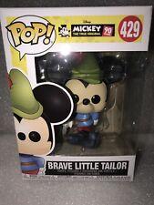 Funko Pop! Brave Little Taylor Mickey Disney #429 New Mint 90 Year Anniversary