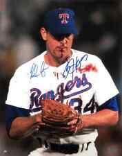 Nolan Ryan & Bo Jackson Autographed/Signed Texas Rangers Iconic 16x20 MLB Photo