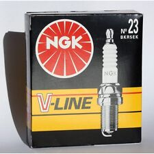 NGK Zündkerze BKR 5 EK V-Line Nr. 23 - BKR5EK VLINE 23 - 4483 - 4 Stück