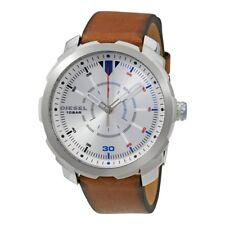 DZ1736 New Genuine DIESEL Machinus Series Watch on Tan Leather RRP £135