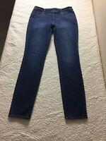 Ann Taylor LOFT- stretch modern skinny jeans size 27 / 4