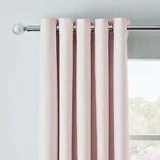 Dunelm Arizona Pair Blackout Eyelet Curtains 228 x 228cm - Pink A