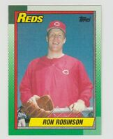 Ron Robinson Reds 1990 Topps #604