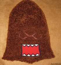 Domo Kun Plush FACE MASK Beanie Costume Headwear Face Sock Halloween LICENSED