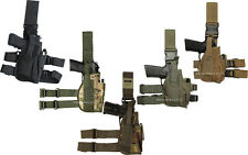 Extremo Pierna Pistola Pistolera Táctico Universal diestros Armada Cinturón