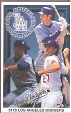 Green Brown LOS ANGELES DODGERS COLLAGE Starline Poster MINI Promo Piece 3x5