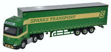 BNIB OO GAUGE OXFORD 1:76 76MB006 MERCEDES ACTROS GSC CURTAINSIDE SPARKS TRANSPO