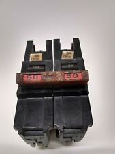 Fpe Federal Pacific Na250 50 Amp 2 Pole 120/240v Circuit Breaker Red