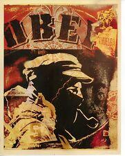 Obey Giant Shepard Fairey Poster Print OBEY Comandante Zapatista Marcos War