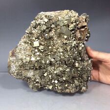 "SS Rocks - ""Large"" Pyrite Crystals (Huaron, Peru) 14.0lbs  ( 8.5 x 7.75"" )"
