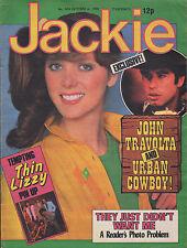 Jackie Magazine 4 October 1980 No. 874    Thin Lizzy    John Travolta