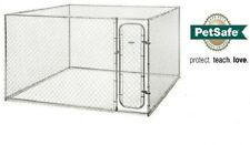 PetSafe Box Kennel for Pets, 10x10x6 Dog Safe Kennels Outdoor Yard NEW!