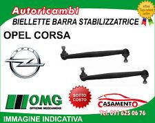 BIELLETTE BARRA STABILIZZAT.ANT OPEL CORSA D t.t Dal 06
