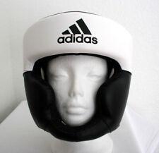 adidas Boxing Response Standard Semi-Open Head Guard(L/EXPART)White/Black D24743