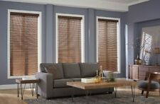 "Custom Home Collection 2"" Premium Faux Wood Blinds Otter Color"
