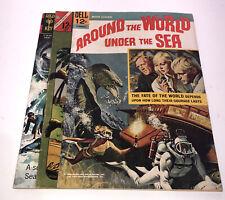 Around the World Under the Sea 1966 ! Bottom Of The Sea Premier War Comic Lot !