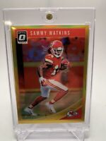 ✨ RARE - SAMMY WATKINS - PARALLEL ✨ 2018 OPTIC (Gold) REFRACTOR #9/10