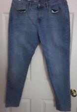 Mossimo - Women's Medium Wash Curvy Skinny Power Stretch Jeans - Tag Size 12S