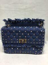 Valentino Jean Studded Crosbody/Handbag