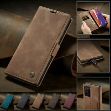For Samsung Galaxy Note 20 S20 10 Magnetic Flip Cover Leather Wallet Stand Case