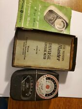 Vintage GE General Electric Exposure Light Meter Type DW-68