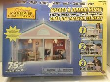 EXTREME MAKEOVER HOME EDITION DREAM HOME BUNGALOW DOLLHOUSE KIT 75+ pieces