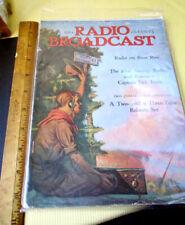 RADIO BROADCAST MAGAZINE;,August 1924