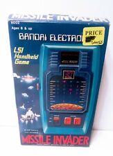 Vintage 1980 Bandai Electronics Missle Invader Hand Held Game/Rare Complete Box