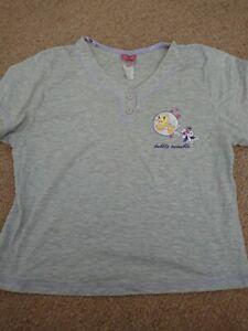 Disney Tweety Pie Pajama Top approx size 14-16