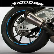 LISERETS JANTES MOTO pour BMW S1000RR STICKERS kit pour 2 jantes 40 couleurs