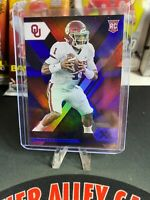 2020 XR Jalen Hurts Blue Parallel Rookie Card No. 14 Sooners