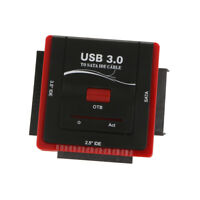 """USB 3.0 to Sata IDE Hard Drive Converter Adapter Combo for 2.5""""/3.5"""" Laptop"""