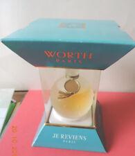 """ANCIEN FLACON """" JE REVIENS """" DE WORTH  (flacon Lalique)"""