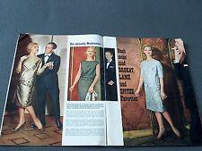 Modezeitschrift BURDA MODEN 10/1961 - 2 Schnittmuster-Bg 50er 60er Jahre MÄNTEL