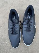 Nike Lunar Control Vapor 2 Men's Golf ⛳ Shoes Black White 899633-002 Size 13