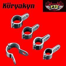 "Kuryakyn Chrome Magnum™ Quick Clamps 1-1/4"""" Engine Guards 1000"