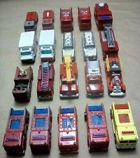 Vintage 1960's/2000's Fire Truck/Ambulance Lesney/Hot Wheels/Maisto Diecast Lot