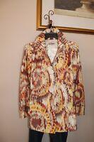 3 Sisters Jacket 6014 3S191 S,M,XL Burst Women's Swing A-Line Dressy Coat USA