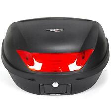 NEW 52L HARD LUGGAGE EASY RELEASE TOP BOX & UNIVERSAL BASE PLATE. 2 HELMETS