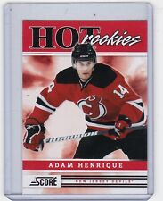 MINT ROOKIE! 2011-12 PANINI HOT ROOKIES NO. 543 ADAM HENRIQUE NEW JERSEY DEVILS