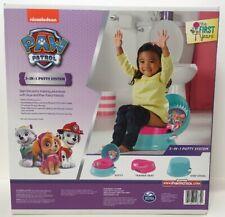 Nickelodeon Paw Patrol Kids Potty System - 3 in 1 Training Step Stool - NEW