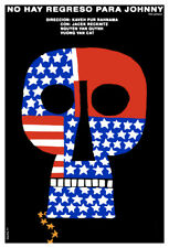 Movie Poster 4 film No hay regreso 4 Johnny.American skull.Room art decor design