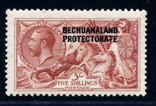 BECHUANALAND PROTECTORATE 1913 KGV 5/ DEEP ROSE RED FINE MINT.   A563