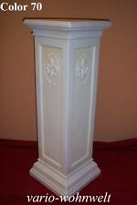 Säule Säulen Lampe Schale Figur  Pflanze Skulptur 1064 / Material : Kunstharz