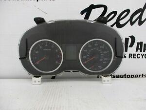 Subaru XV Crosstrek 2014 Speedometer Cluster 190678 UNKNOWN MILES